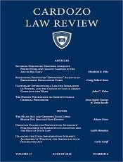 Cardozo Law Review