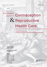 The European Journal of Contraception & Reproductive Health Care