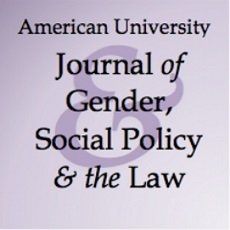 Journal of Gender, Social Policy and the Law