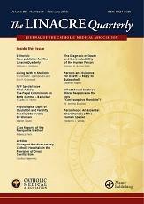 The Linacre Quarterly